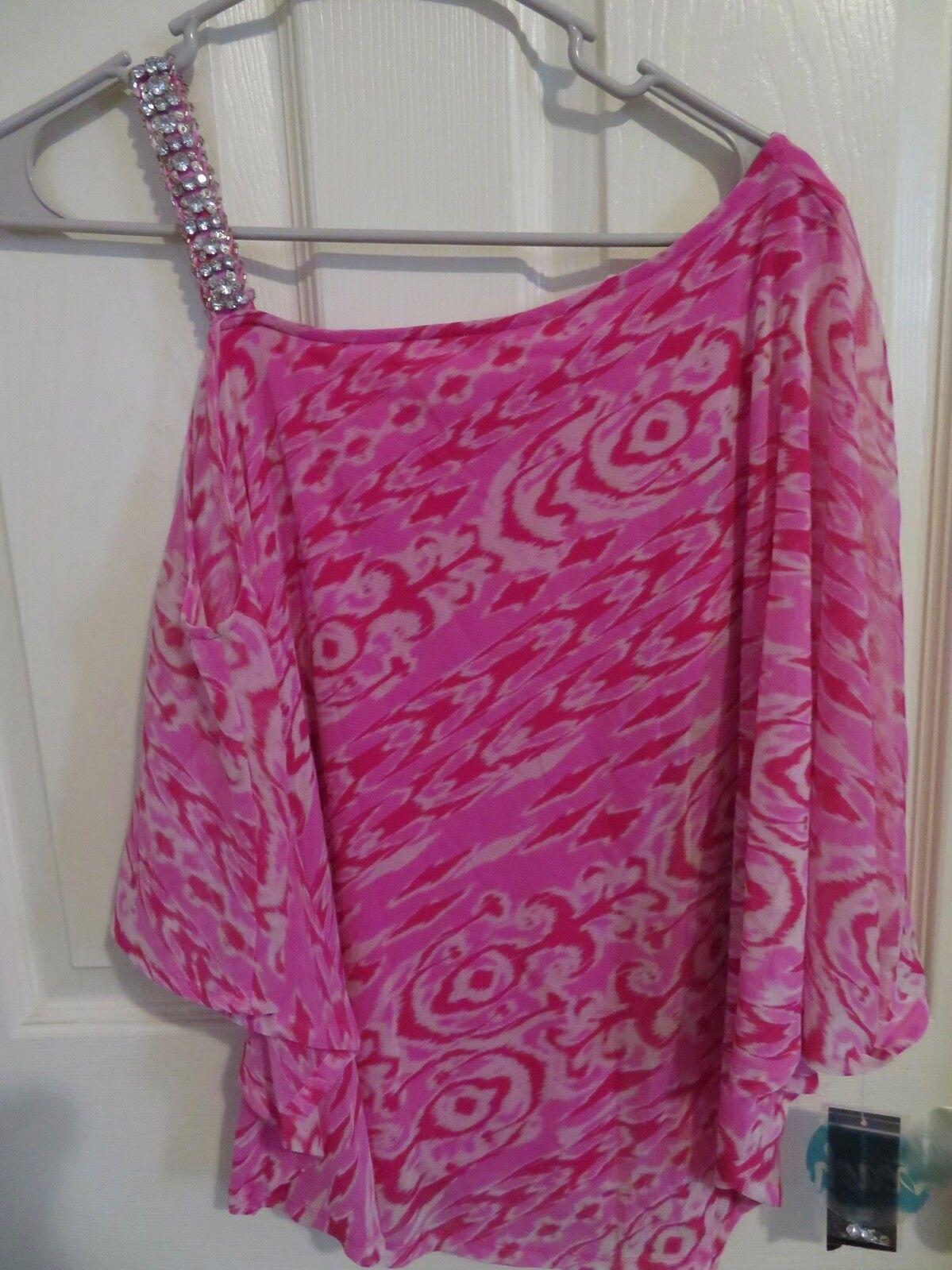 Neu Damen INC International Concepts Strandbedeckung Sexy Badehose Hemd Größe XS