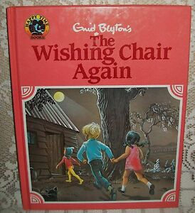LARGE-CHILDRENS-039-BOOK-THE-WISHING-CHAIR-AGAIN-Enid-Blyton-illustrated-1989