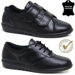 Ladies Leather Nurse Hospital Kitchen Comfortable Work Shoes Womens