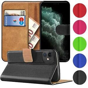 Schutz-Huelle-fuer-Apple-iPhone-Handy-Klapp-Tasche-Book-Flip-Case-Schutzhuelle-Etui