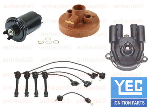 Toyota Previa 91-97 2.4L Tune Up KIT Fuel Filter Cap Rotor Spark Plug Wire Set