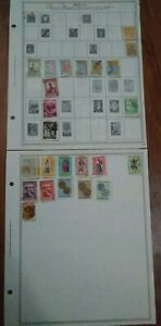 Angola Stamp Collection Vintage Antique Lot Portuguese Stamps
