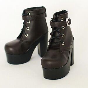 MSD Shoes 1//4 BJD Boots Supper Dollfie Boots Dollmore Luts AOD black High heels