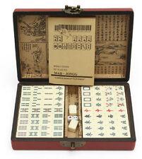 144 Tiles Mah-Jong Set Toy Vintage Mahjong Rare Chinese Game Free Shipping