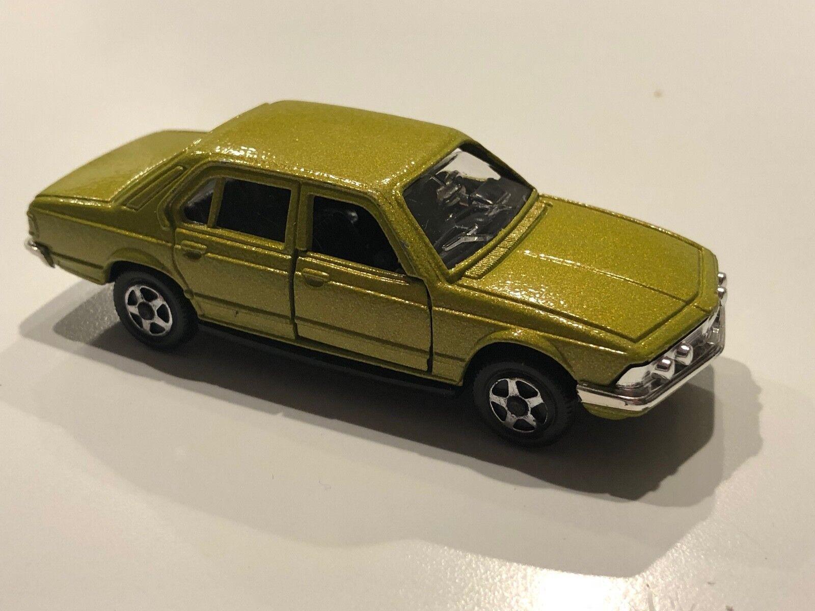 RARE et de collection MEBETOYS BMW 730 E23 en Vert Métallique  A120