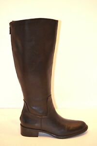 e39829d5ca7 FRANCO SARTO Crane Women s Black Leather Knee High Riding Boots Size ...