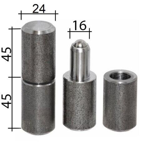 Anschweißbandrollen Torband Anschweissband 90 mm Ø 24 auf Kugeln