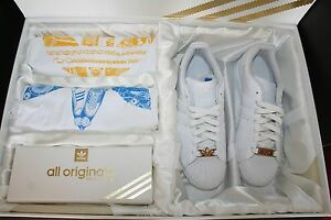 Adidas Originals Superstar II Size 11 Special Edition for Nice Kicks 1 of a kind
