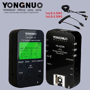 Yongnuo YN622N-KIT Wireless TTL Flash trigger for Nikon D5200 D5300 D5100 D5000