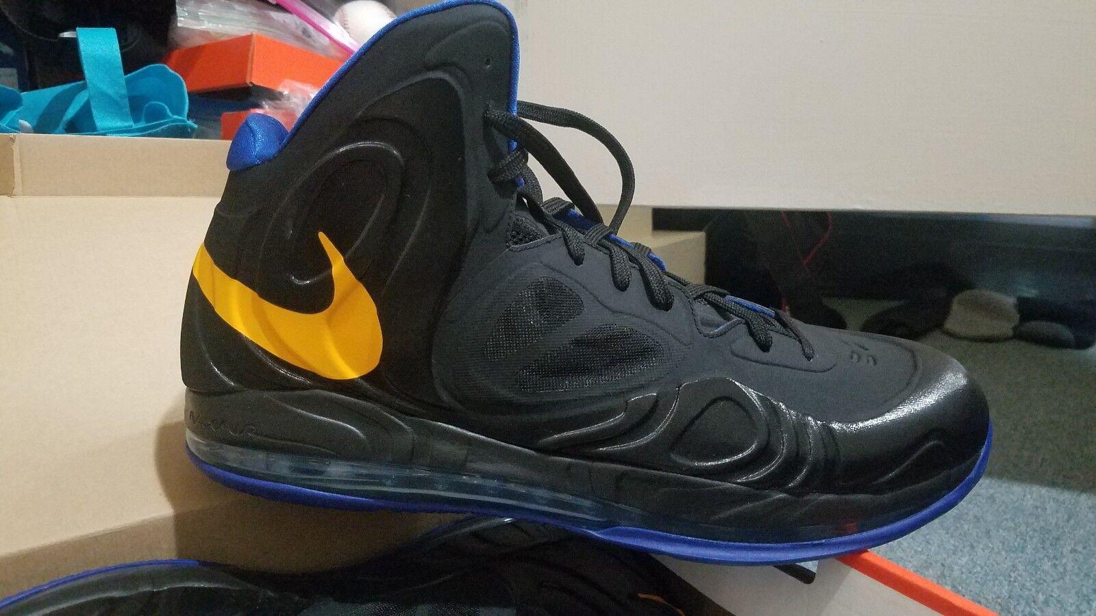 Nike Hyperposite David Lee PE golden state Warriors Player Exclusive 2012