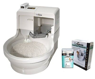 CAT GENIE 120 SELF CLEANING / WASHING AUTOMATED LITTERBOX catgenie