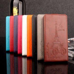 Cover-libro-flip-pelle-sintetica-scocca-disegno-eiffel-per-Sony-Xperia-XZ