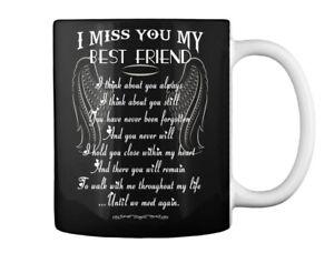 I Miss You My Best Friend Gift Coffee Mug Ebay