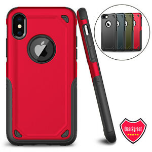 For-iPhone-XS-Max-XR-X-7-8-Plus-Protective-Shockproof-Hybrid-Rugged-Case-Cover