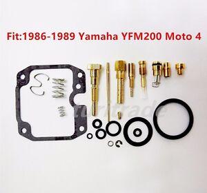 yamaha moto 4 yfm200 carburetor carb rebuild kit repair. Black Bedroom Furniture Sets. Home Design Ideas