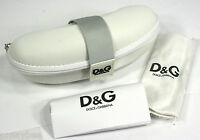 Dolce & Gabbana Glasses Case With Cloth From Store Displays 6 Zippered Wht