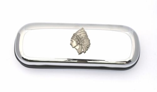 Indian Headress Design Glasses//Spectacle Case Indian Gift FREE ENGRAVING