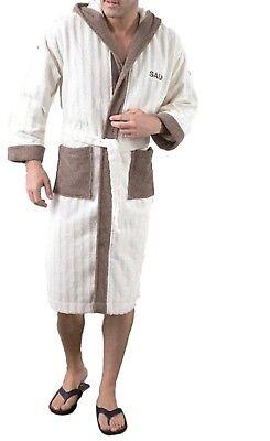 Bademantel für Herren verschiedene Farben verschiedene Größen 100/% Baumwolle