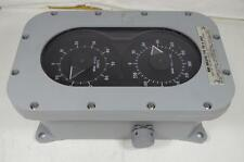 WIND INDICATOR TYPE F60 US NAVY  NAVAL AIR SYSTEMS   with 2ea. SYNCHRO 18TRX6b