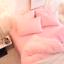 Doona-Quilt-Cover-Set-Luxury-Plush-Shaggy-Duvet-Faux-Fur-Home-Pillow-Case-Sheet miniature 10