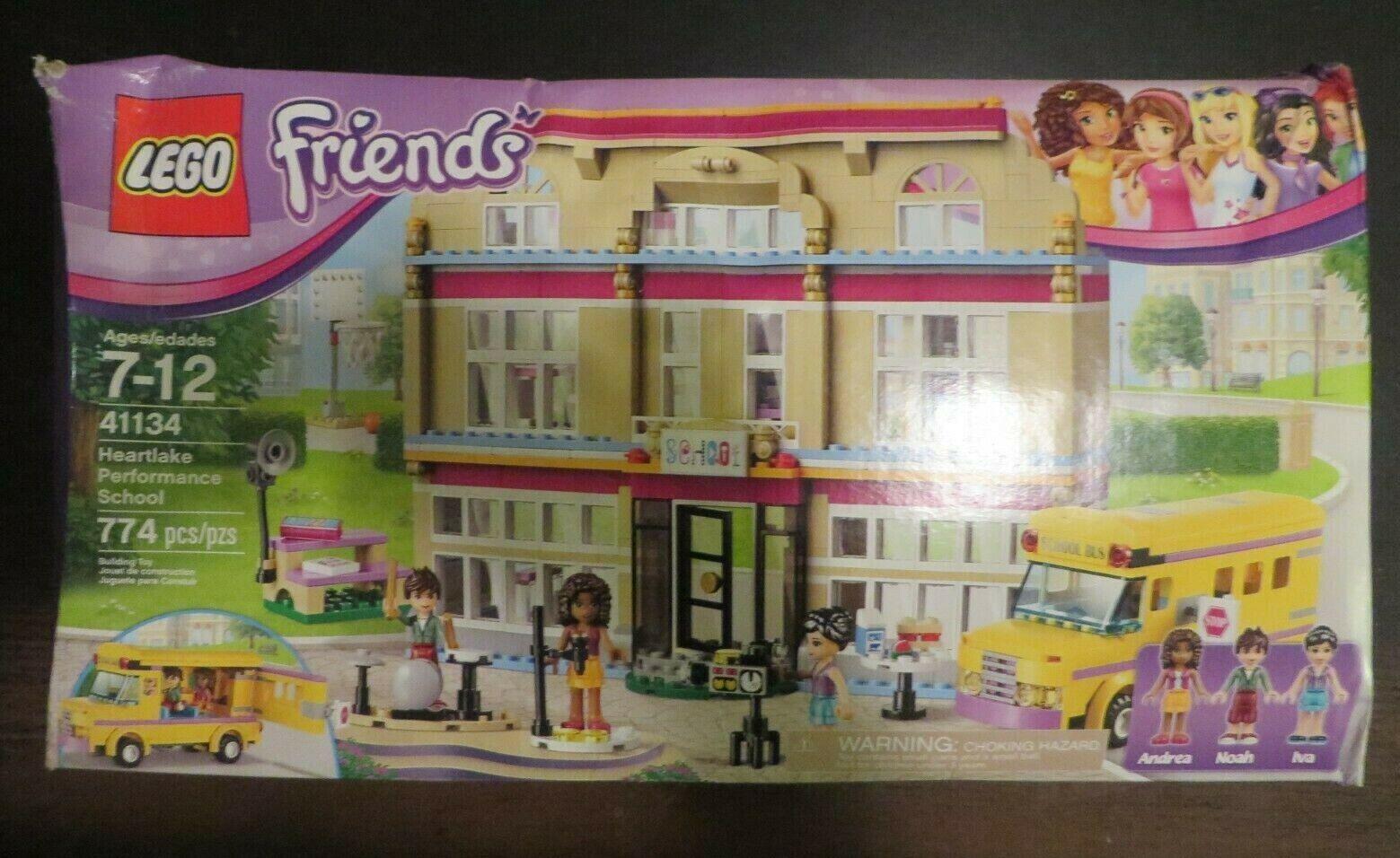 Lego 41134 - Friends - Heartlake Performance School - NISB - Damaged Box