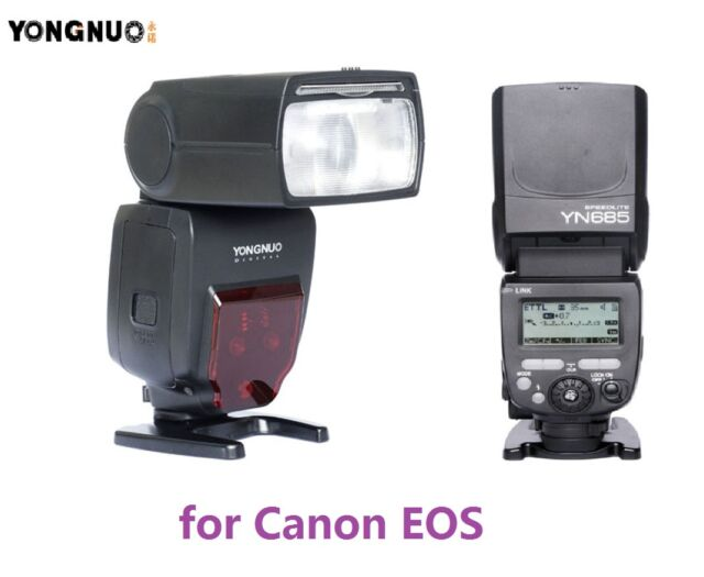 Yongnuo YN685 Wireless Flash Speedlite TTL for Canon 7D 7DII 5D 1200D 760D 750D