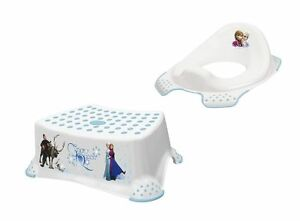 Disney frozen set di due supporto per wc sgabello allenamento