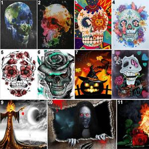Halloween Skull Full Drill DIY 5D Diamond Painting Cross Stitch Kits Home Decor