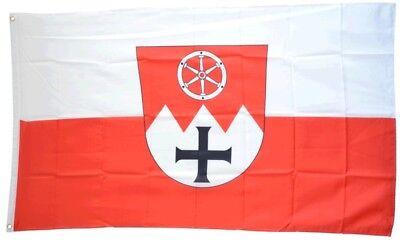 Fahne Deutschland Landkreis Bamberg Flagge Bamberger Hissflagge 90x150cm