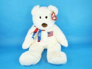 67fae70945c TY Beanie Baby Buddy Plush Large Libearty Liberty Teddy Bear Stuffed ...