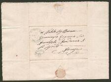 TOSCANA. STRADE FERRATE LIVORNESI. UFFICIO CENTRALE DI PISTOIA. Lettera del 1861