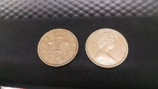 2p coin 1971 - New Pence (two coins)