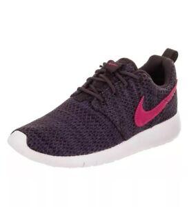 sale retailer c853c 2634f Details about Nike Roshe One Girls Size 7Y (Women's size 8.5) Dark  Purple/Pink Running Shoes
