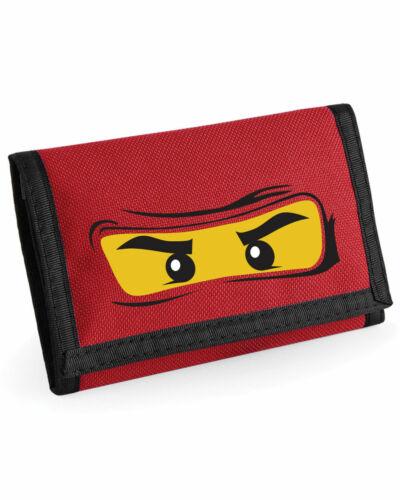 Unisexe Enfants Lego visage Ripper Wallet BagBase Enfants Vacances Argent Support 7 Couleurs