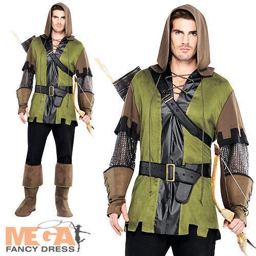 Principe dei Ladri Da Uomo Costume Medievale Fairytale Libro Settimana Costume Adulti