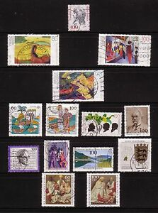 1992 Lot Sonder- und Serienmarken, gestempelt. Mi. 1582,1617-1619,1566,1599 u.a. - Stuttgart, Deutschland - 1992 Lot Sonder- und Serienmarken, gestempelt. Mi. 1582,1617-1619,1566,1599 u.a. - Stuttgart, Deutschland