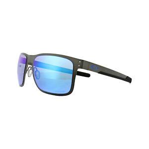 3ddb9297cf Image is loading Oakley-Sunglasses-Holbrook-Metal-OO4123-07-Gunmetal-Prizm-