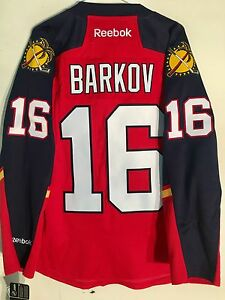 7e5e813bf33 Image is loading Reebok-Premier-NHL-Jersey-Florida-Panthers -Aleksander-Barkov-