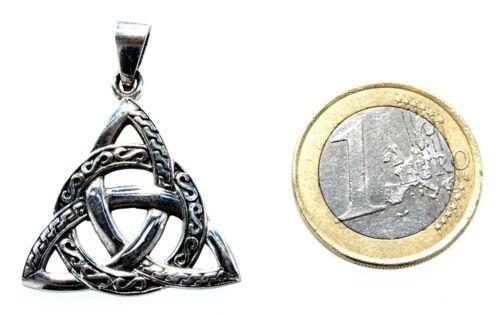 Keltenknoten Anhänger Kette 925 Silber Triqueta Trinity keltischer Knoten Nr 232