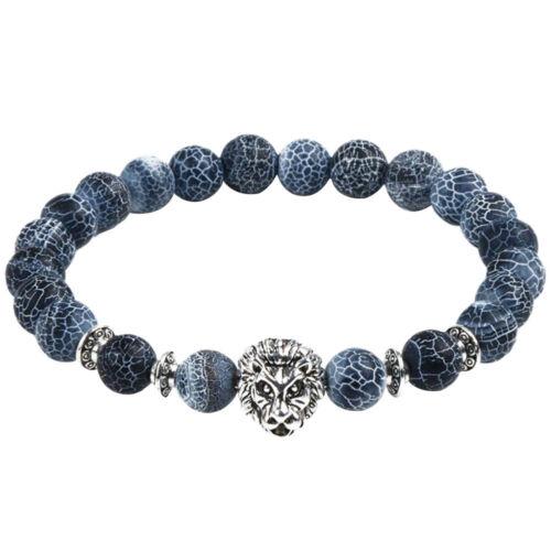 Frauen Yoga Armband Achat Perlen Gebets Eulen Buddha tibetisches Geschenk