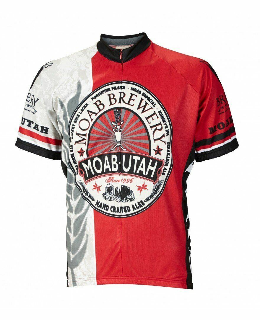 Moab Brewery Hoppy Cycling Jersey