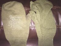 Cold Weather Vietnam Era Trigger Finger Mittens Military Hunting Large Inserts