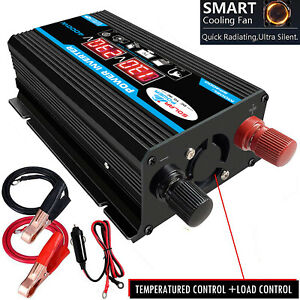 4000W-LCD-2-USB-DC-12V-To-AC-110V-Car-Solar-Power-Inverters-Converter-T