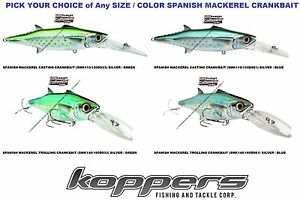 Live-Target-Spanish-Mackerel-Crankbait-Saltwater-Fishing-Lure-Any-SMK-Color-Size