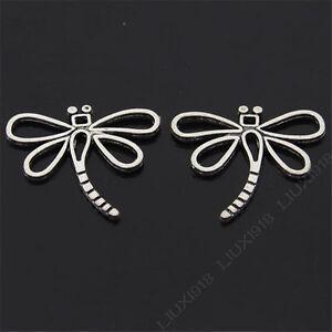 20pc-Retro-Tibetan-Silver-Dragonfly-Animal-Pendant-Charms-Dangle-Findings-S410T