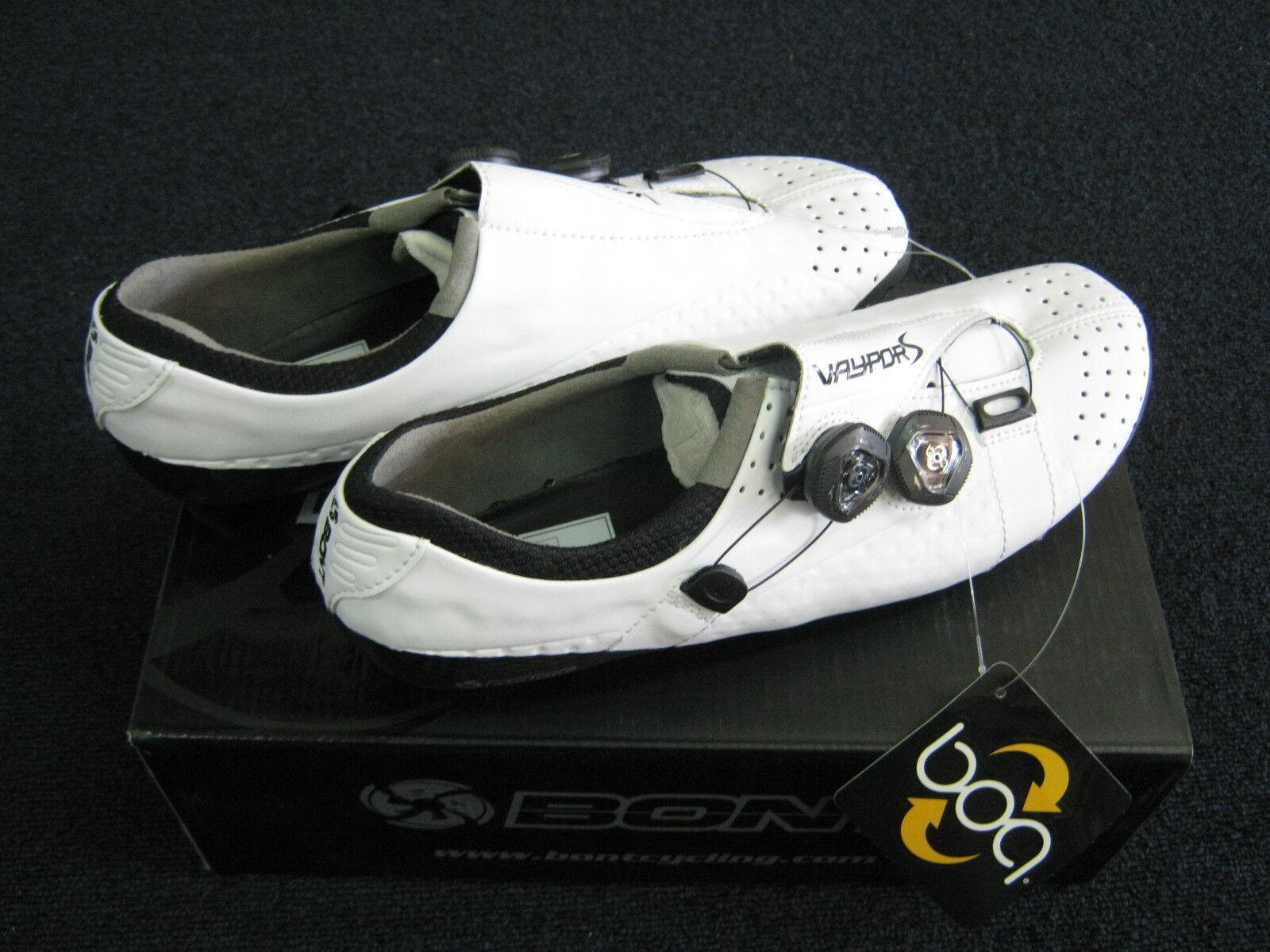 Bont Vaypor S carbon racing shoes  White Asian fit  guaranteed
