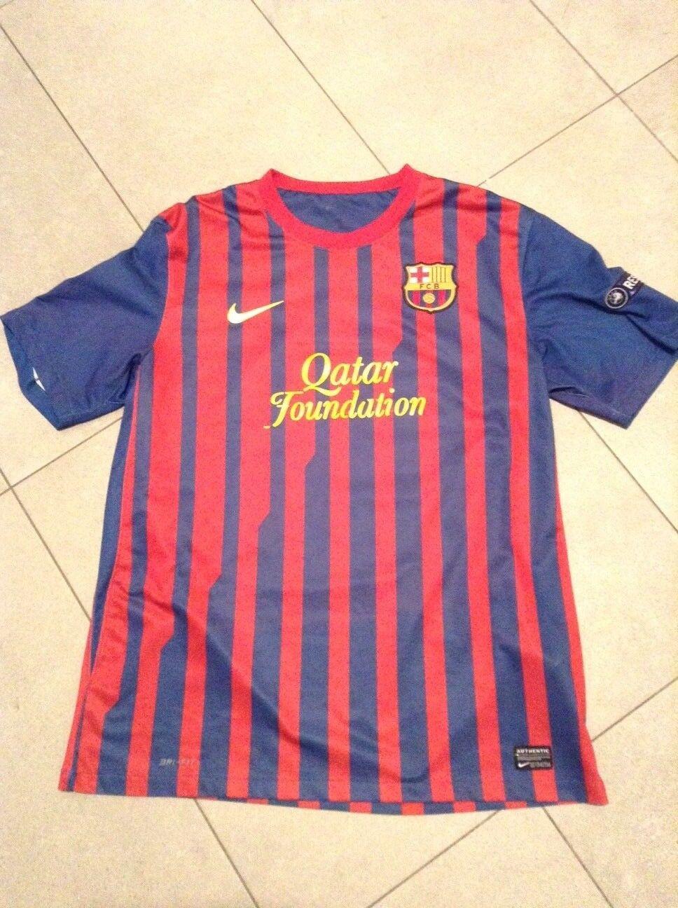 Maglia calcio Barcelona FC - L. Messi indossata Ch. League 2011 - SPED. GRATUITA
