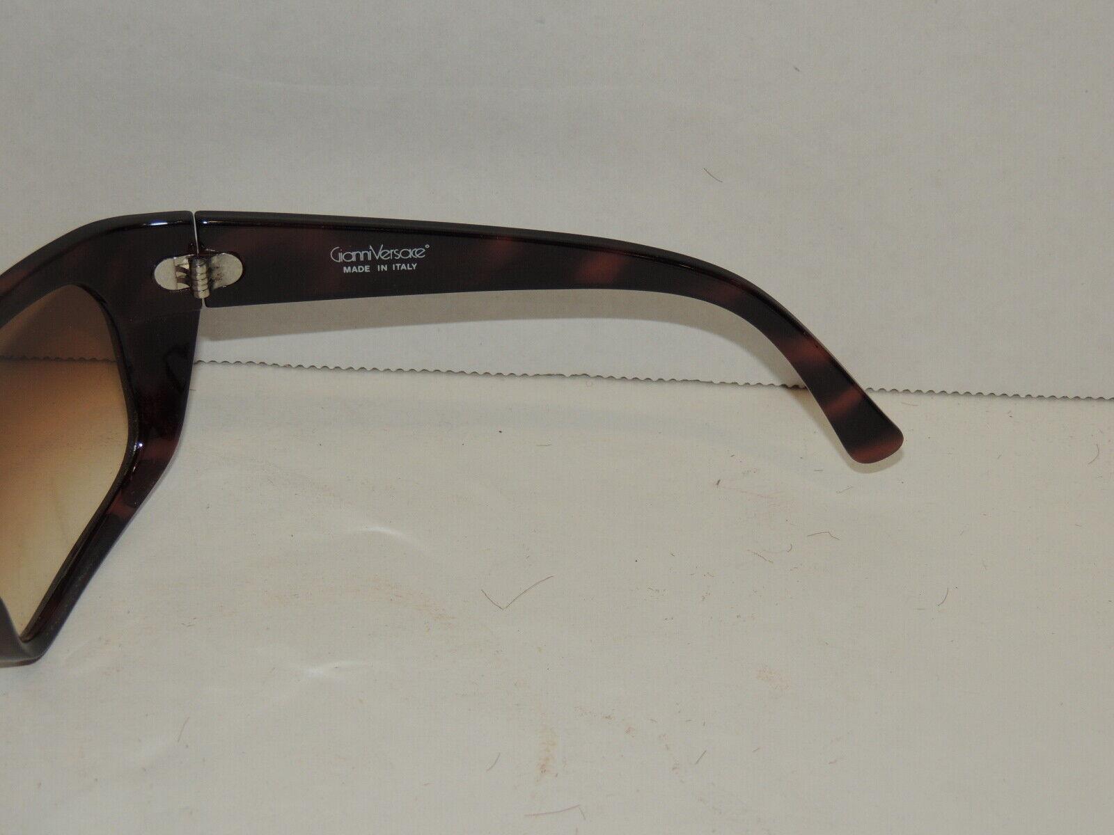 Gianni Versace Basix Brown Sunglasses  - image 4