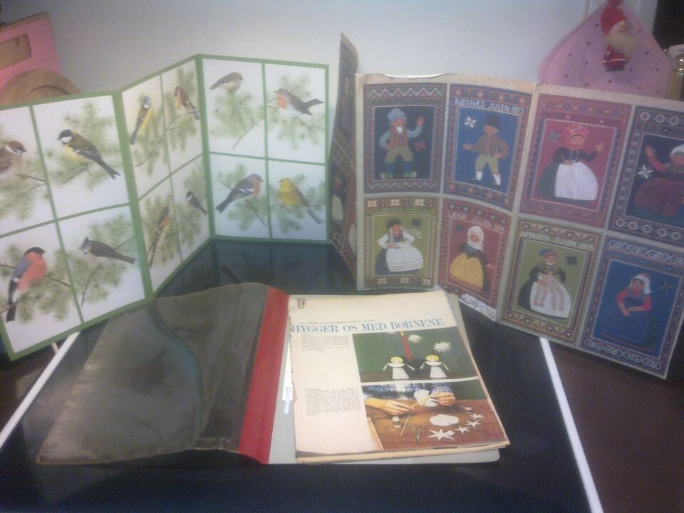 Andre samleobjekter, Retro julekort og opskrifter