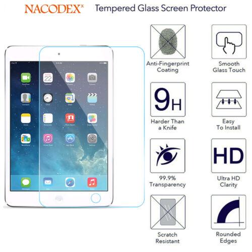 Nacodex Premium Tempered Glass Screen Protector Film For Apple iPad Mini 4